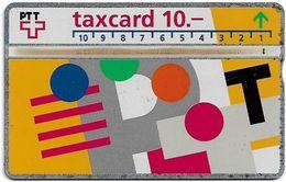 Switzerland - Swisscom (L&G) - V Cards - V-17B3 - Visuelle PTT - 303D - 03.1993, 10Fr, 10.000ex, Used - Zwitserland