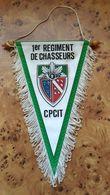 FANION 1°RCh / 1° REGIMENT DE CHASSEURS / CPCIT / CANJUERS - Drapeaux