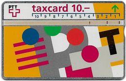 Switzerland - Swisscom (L&G) - V Cards - V-17B4 - Visuelle PTT - 311B - 11.1993, 10Fr, 10.000ex, Used - Zwitserland