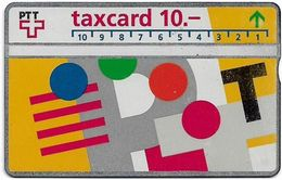 Switzerland - Swisscom (L&G) - V Cards - V-17B5 - Visuelle PTT - 401C - 01.1994, 10Fr, 11.660ex, Used - Zwitserland