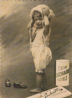 Reproduction.Cacao Suchard.Chcolat.  Bébé Met Son Bonnet.  Scan - Reclame