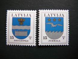 Definitive Issue Coat Of Arms # Latvia Lettland Lettonie # 2005 MNH #Mi. 521/2 - Latvia