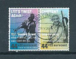 2009 Netherlands Pair Summer Welfare,zomerzegels Used/gebruikt/oblitere - 1980-... (Beatrix)
