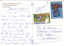 TN+ Tunesien 1986 1995 Mi 1120 1313 Braut, FAO Auf PK Dromedare GH - Tunesië (1956-...)