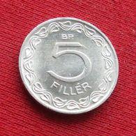 Hungary 5 Filler 1973 KM# 549  Hongrie Hungria Ungarn Ungheria Magyar - Hongarije