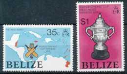 NB - [71765]SUP//**/Mnh-Belize 1976 - Coupe Du Monde De Cricket, Sports - Cricket