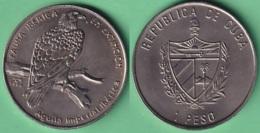 2004-MN-200 CUBA UNC 1$ CUPRO-NICKEL 2004. FAUNA IBERICA EN EXTINCION ESPAÑA. AGUILA IMPERIAL EAGLE BIRD. - Cuba
