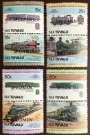 Tuvalu Nui 1984 Railways 1st Series Specimen MNH - Tuvalu (fr. Elliceinseln)