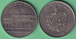 2004-MN-208 CUBA UNC 1$ CUPRO-NICKEL 2004. MONUMENTOS DE CUBA. LA HABANA PLAZA VIEJA. - Cuba