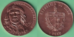 2007-MN-202 CUBA UNC 1$ COPPER 2007. ERNESTO CHE GUEVARA. - Cuba