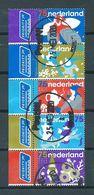 2008 Netherlands Complete Set/strip Kabouters Used/gebruikt/oblitere - Periodo 1980 - ... (Beatrix)