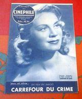 Cahier Du Cinéphile 1948 Carrefour Du Crime Jean Sacha André Hunebelle Louis Salou Jean Vilar Claude Genia - Books, Magazines, Comics