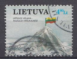 Lituanie 1997  Mi.Nr: 634 Alpinismus   Oblitèré / Used / Gebruikt - Lithuania