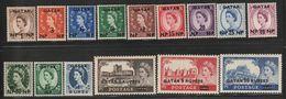 QATAR - N°1/15 ** (1957) Elizabeth II - Qatar