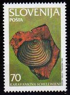 Slovenija-1995, Mi.108, Fossil, MNH** - Archéologie