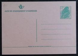 Entiers Postaux - Changement D'adresse, Oiseaux, Passereaux, Moineau Domestique (Birds, House Sparrow - Belgium) - Moineaux