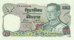 Thailand 20 Baht (P88) Sign 72 -UNC- - Tailandia