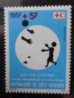 COTE D'IVOIRE 1987 Y&T N° 792 ** - JOURNEE MONDIALE DE LACROIX ROUGE - Ivory Coast (1960-...)