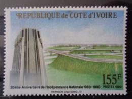 COTE D'IVOIRE 1990 Y&T N° 849 ** - 30e ANNIV. DE L'INDEPENDANCE NATIONALE - Ivory Coast (1960-...)