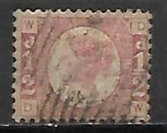 GRANDE BRETAGNE  /  U.K.     .1870.    .Y&T N° 49 Oblitéré.  . - Usati