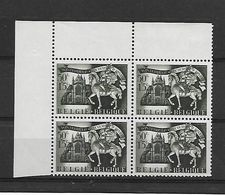 België  N° 633 V4  Xx Postfris  Bespijkerde Overgang - Errors And Oddities