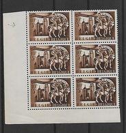België  N° 631 V  Xx Postfris  Bijgewerkte Hoek - Variedades (Catálogo COB)