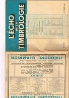 Philatélie L'écho De La Timbrologie N 1119 Etude Information Nouvelle émission Annonce Marques Postale Royaume De Naples - Books, Magazines, Comics