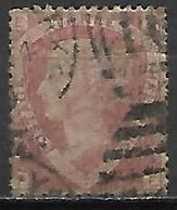 GRANDE BRETAGNE  /  U.K.   -  1870.    .Y&T N° 50 Oblitéré.  .planche 1 - Usati