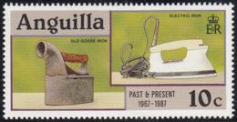 Anguilla 1987 MNH Sc #717 10c Old Goose, Electric Irons - Anguilla (1968-...)