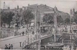 Be - Cpa AMSTERDAM - JD Meyerplein, Brug N. Heerengracht - Amsterdam