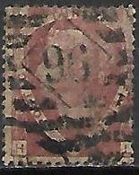GRANDE BRETAGNE  /  U.K.     .1870.    .Y&T N° 50 Oblitéré.  .planche 3 - Usati