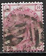 GRANDE BRETAGNE  /  U.K.   -  1873.    .Y&T N° 51 Oblitéré.  .planche 11 - Usati