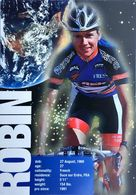 Postcard Jean-Cyril Robin - US Postal - 1997 - Ciclismo