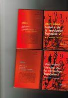 Albert Soboul Histoire De La Révolution Française 1 & 2 De La Bastille à La Gironde  De La Montagne à Brumaire Idées NRF - History