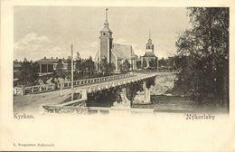 Finland Suomi, NYKARLEBY UUSIKAARLEPYY, Kyrkan Church (1899) Postcard - Finland