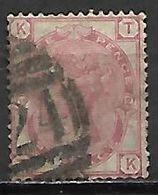 GRANDE BRETAGNE  /  U.K.   -  1873.    .Y&T N° 51 Oblitéré.  .planche 12 - Usati