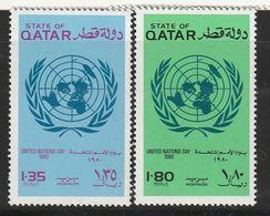 QATAR - N°792/3 ** (1979) - Qatar