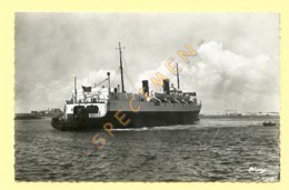 59. CPSM - DUNKERQUE - Ferry-Boat En Mer. - Dunkerque