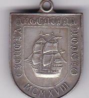 ESCUELA ARGNTINA MODELO, 2° DE HONOR. MEDALLA AÑO 1918 ARGENTINA. MEDAL, MEDAILLE HONNEUR, ECOLE -LILHU - Professionnels / De Société