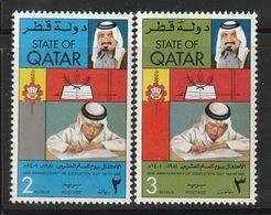 QATAR - N°804/5 ** (1981) - Qatar