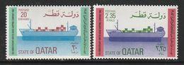 QATAR - N°838/9 ** (1982) - Qatar