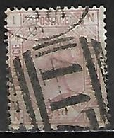 GRANDE BRETAGNE  /  U.K.   -  1875    Y&T  N° 56 Oblitéré  .planche  4 . Cote 45€ - Usati