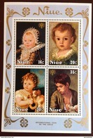 Niue 1979 Year Of The Child Sheetlet MNH - Niue