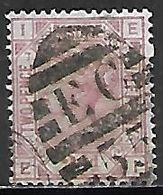 GRANDE BRETAGNE  /  U.K.    -  1875    Y&T  N° 56 Oblitéré  .planche  7 . Cote 45 € - Usati