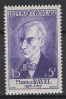 France: 1956. Y&T  N° 1071 ** MNH, Neuf(s). Cote Y&T 2020 : 11 € - Neufs
