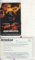 GREECE - Cinema/The Test, Interline Promotion Prepaid Card, Exp.date 30/06/03, Sample, Mint - Cinema