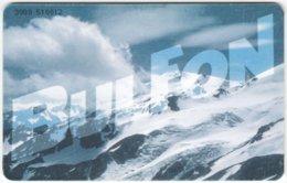 BULGARIA A-528 Chip BulFon - Calendar 2001 - Used - Bulgarije