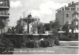 Civitanova Marche - Giardini Pubblici - Fontana - H522 - Altre Città