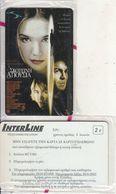 GREECE - Cinema/Absence Of Dark, Interline Promotion Prepaid Card, Exp.date 30/06/03, Sample, Mint - Cinema