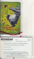 GREECE - Cinema/The Jungle Book 2(Disney), Interline Promotion Prepaid Card, Exp.date 30/06/03, Sample, Mint - Cinema